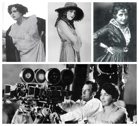 'Sounds for Silents' - Francesca Bertini, Mary Pickford, Gigetta Morano, Lois Weber