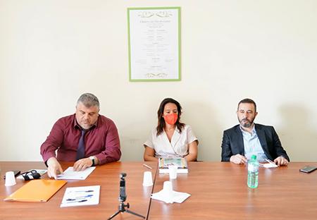 Vincenzo Cimino, Alessandra Ruberto e Cosimo Santimone