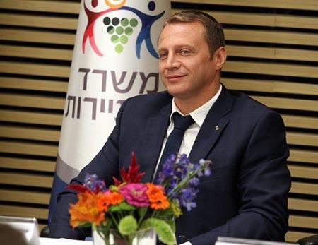 Yoel Razvozov nuovo Ministro del Turismo di Israele - ph Israel Ministry of Tourism