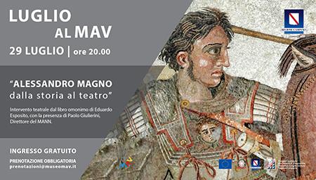 'Alessandro Magno dalla storia al teatro'
