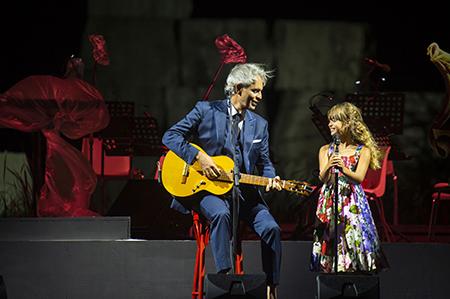 Andrea e Virginia Bocelli