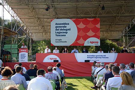 Assemblea Legacoop Toscana a Roselle (GR)