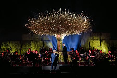 'Clio Dorada' di Manolo Valdés a 'Il Teatro del Silenzio'