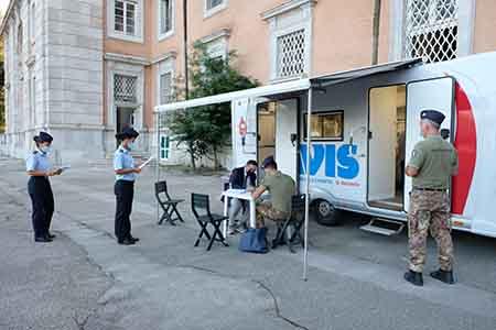 donazione di sangue alla SSAM di Caserta