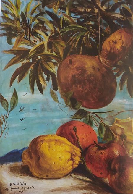 Giorgio de Chirico, 'Ego quoque in Arcadia vixi'
