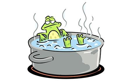 Il principio della rana bollita