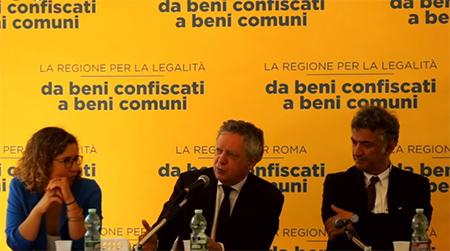 Ilaria Meli, Nando dalla Chiesa e Gianpiero Cioffredi