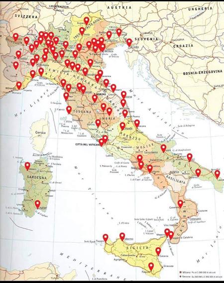Manifestazioni contro il Green Pass in tutta Italia