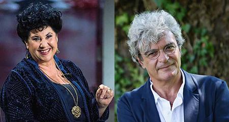 Marisa Laurito e Mario Martone