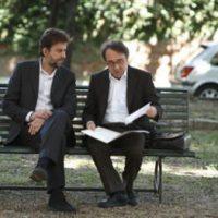 Silvio Orlando e nanni Moretti in una scena di 'Caos calmo'