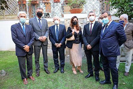 SMOCSG, inaugurato Hortus Conclusus - foto Fabio Sasso - Flash Press Agency