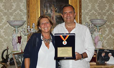 Tiziana Grassi e Luigi de Magistris