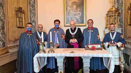 Vescovo di Viterbo nominato Cappellano Gran Croce di Merito del SMOCSG