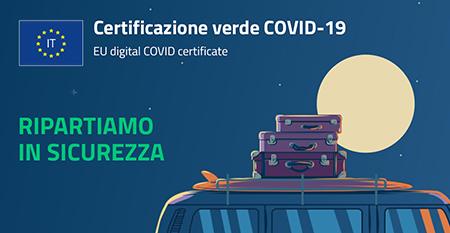 Certificazione verde Covid-19 - EU digital Covid Certificate