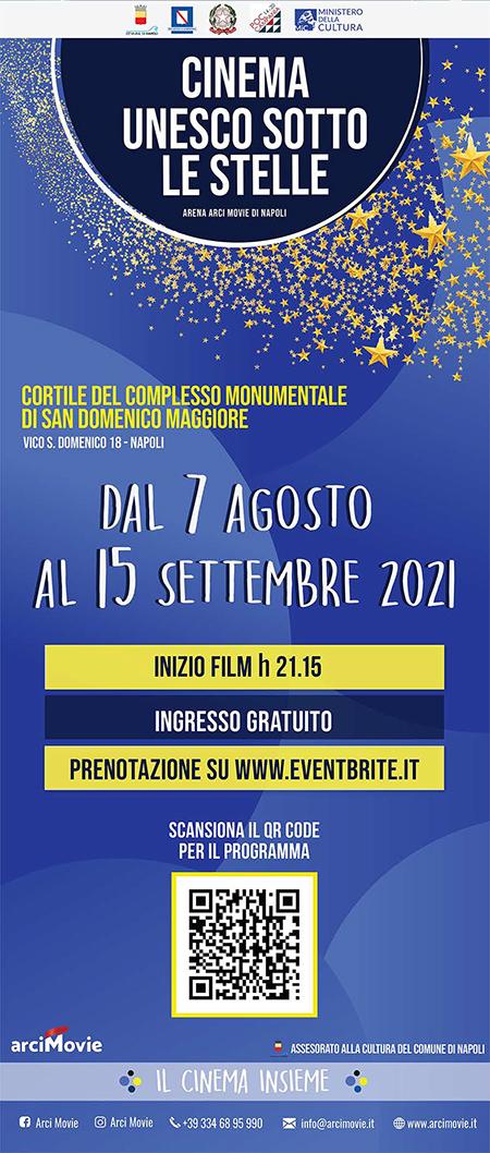 'Cinema UNESCO sotto le stelle'