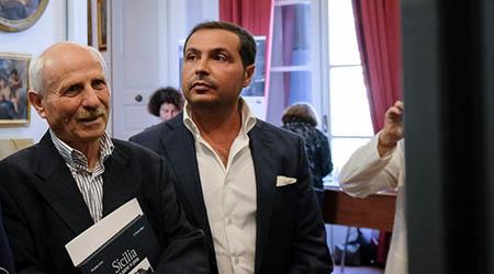 Giuseppe Leone e Mario Esposito