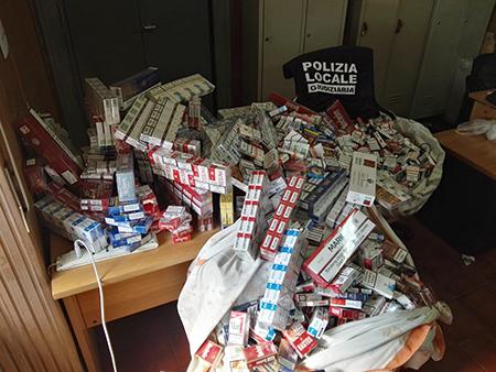 operazione anti contrabbando sigarette