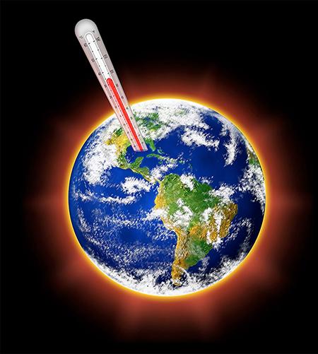Surriscaldamento della terra