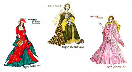 'Le donne della Divina Commedia' firmate Regina Schrecker