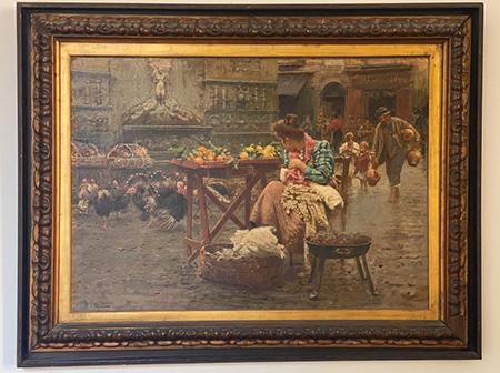 La venditrice di agrumi di Vincenzo Caprile