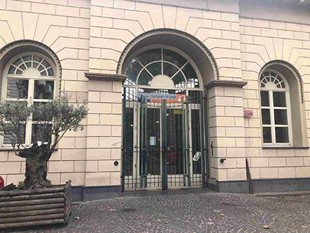 Napoli Vomero, funicolare di Chiaia chiusa