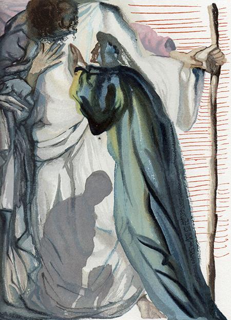Salvador Dalí - Purgatorio canto XIII