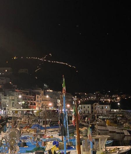 Scala Fenicia sul Monte Solaro a Capri (NA) - ph Rosy Guastafierro