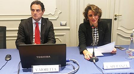 Vincenzo Moretta e Liliana Speranza ODCEC Napoli
