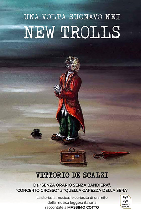 Vittorio De Scalzi - Cover cofanetto 'Una volta suonavo nei New Trolls'