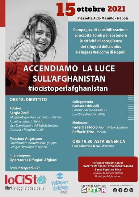 'Accendiamo la luce sull'Afghanistan'
