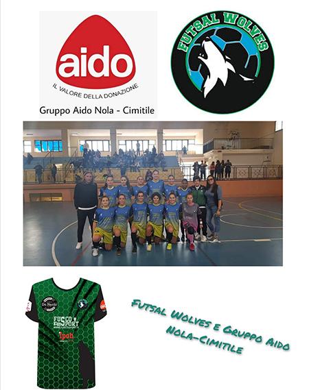 AIDO Nola – Cimitile - Futsal Wolves