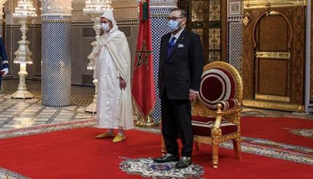Akhannouch e Mohammed VI