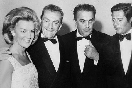 Film Commission Veneto - Cicogna, Visconti, Fellini e Mastroianni