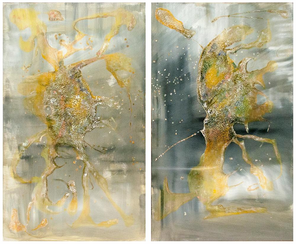 Mariangela Cacace, Sogno di voluttà - La camera doppia, cm.120x120