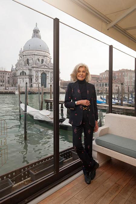 Marina Cicogna - ph Giorgio Schirato